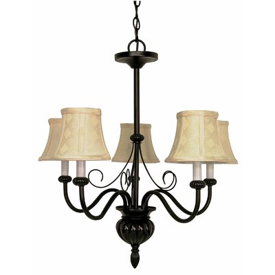 Nuvo Lighting Vanguard 5 Light Chandelier