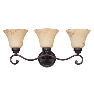 Nuvo Lighting Anastasia 3 Light Vanity Light
