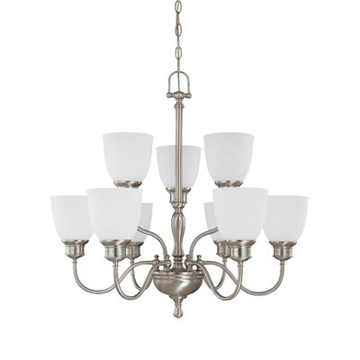 Nuvo Lighting Bella 9 Light Chandelier