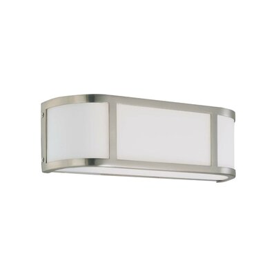 Nuvo Lighting Odeon  Wall Sconce in Brushed Nickel