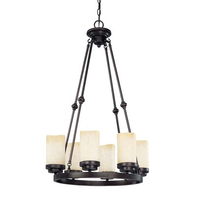 Nuvo Lighting Lucern 6 Light Chandelier