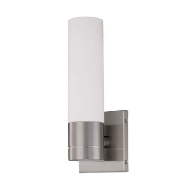 Nuvo Lighting Link 1 Light Tube Wall Sconce