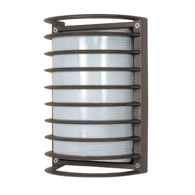Nuvo Lighting Rectangle Cage 1 Light Wall Sconce
