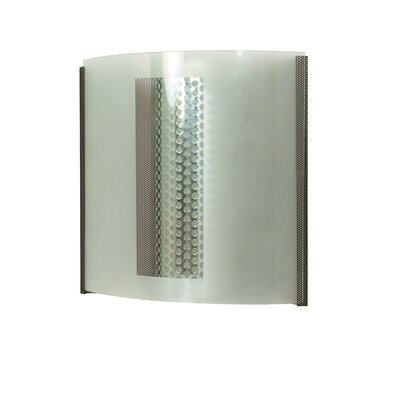 Nuvo Lighting Energy Star  Wall Sconce in Black/Steel