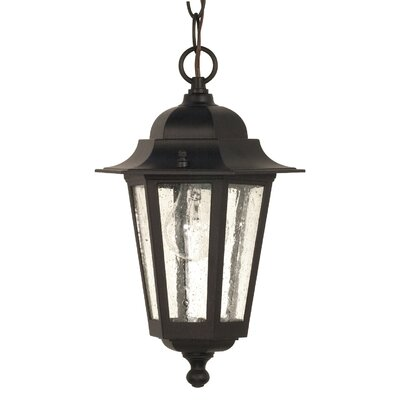 Nuvo Lighting Cornerstone 1 Light Hanging Lantern