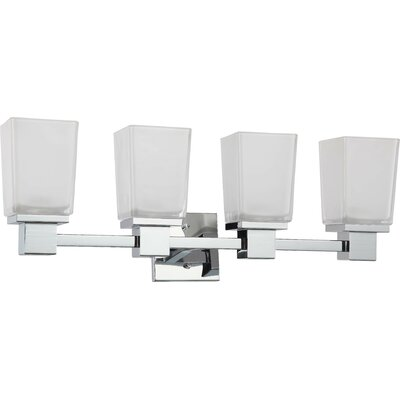 Nuvo Lighting Parker 4 Light Bath Vanity Light