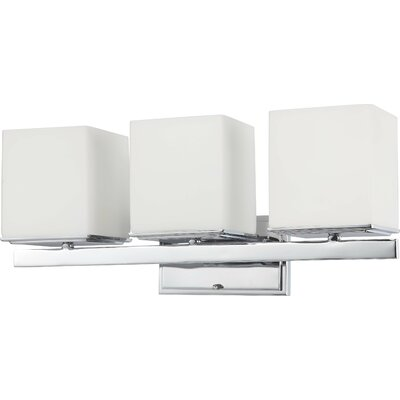 Nuvo Lighting Bento 3 Light Bath Vanity Light