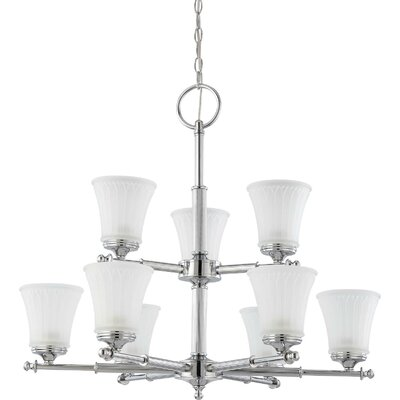 Nuvo Lighting Teller 9 Light Chandelier