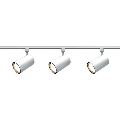 Nuvo Lighting 3 Light Straight Cylinder Track Light Kit