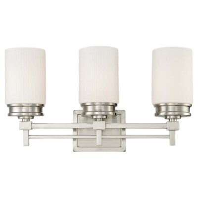 Wright 3 Light Bath Vanity Light