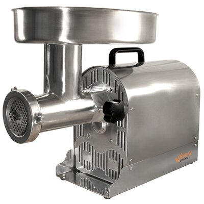 Weston Stainless Steel Electric Meat Grinder/Stuffer