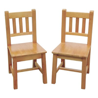 Guidecraft New Mission Kid's Extra Chair (Set of 2)