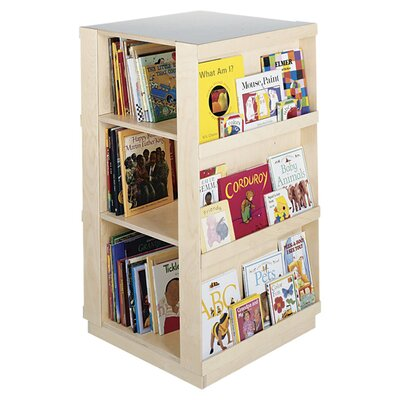 "<strong>Guidecraft</strong> 44"" H Big Book Four Sided Library Book Shelves"