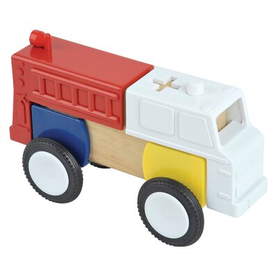 Guidecraft Block Mates Community Vehicles Set (Set of 4)