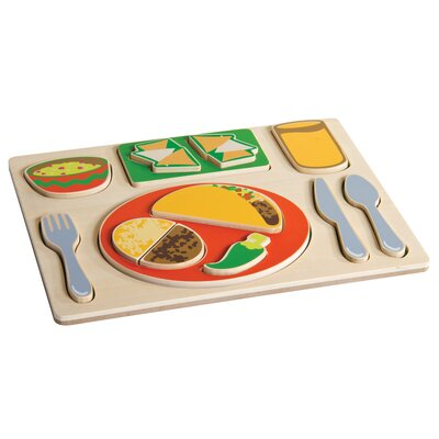 Guidecraft Mexican Sorting Food Tray
