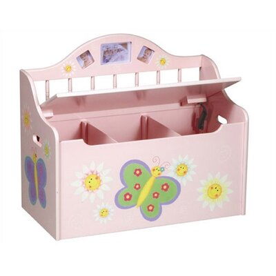 Guidecraft Butterfly Toy Box