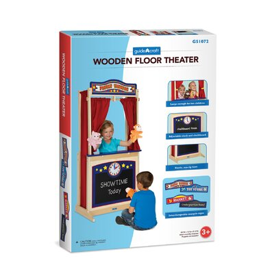 Guidecraft Dramatic Play Floor Theater