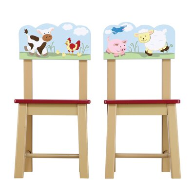 Guidecraft Farm Friends Chair (Set of 2)