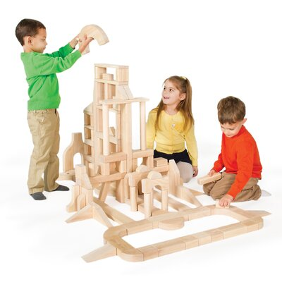 Classroom 110 Piece Unit Block Set