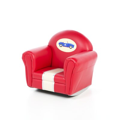 Retro Racers Rocker Kid's Chair