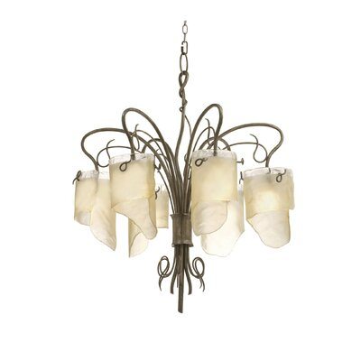 Varaluz Recycled Soho 6 Light Chandelier