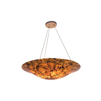 Varaluz Big 4 Light Inverted Pendant