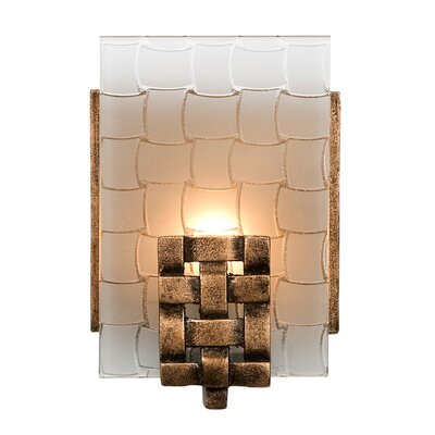 Varaluz Dreamweaver 1 Light Recycled Wall sconce