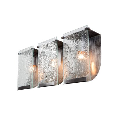 Varaluz Recycled Rain Bath Light - Three Light in Rainy Night