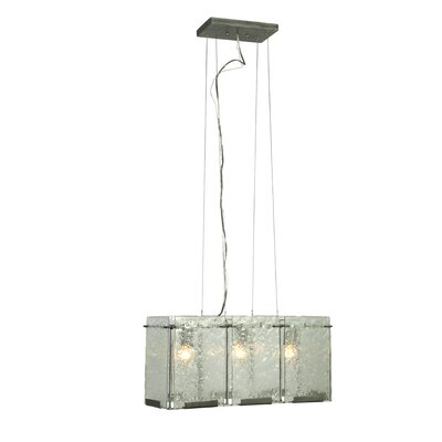 Varaluz Recycled Rain 3 Light Pendant