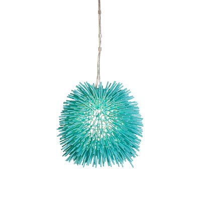 Varaluz Urchin 1 Light Mini Pendant
