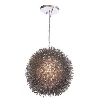 Varaluz Urchin 1 Light Drum Foyer Pendant