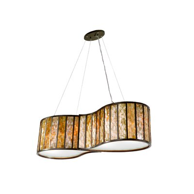 Varaluz Affinity 4 Light Drum Foyer Pendant
