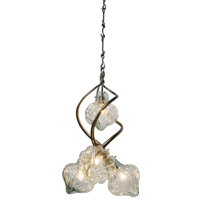 Varaluz Tusk 4 Light Foyer Pendant