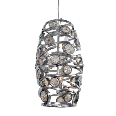 Varaluz Swank 3 Light Foyer Pendant