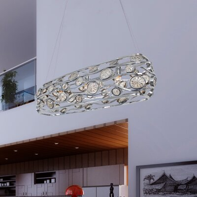 Varaluz Swank 3 Light Linear Pendant