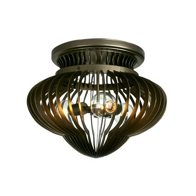 Varaluz Clout Three Light Clubs Ceiling Light