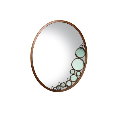 Varaluz Fascination Oval Mirror