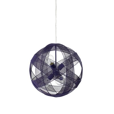 Varaluz At-Mesh-Sphere 6 Light Foyer Pendant