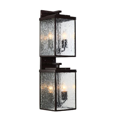 Varaluz Mission You 4 Light Outdoor Wall Lantern