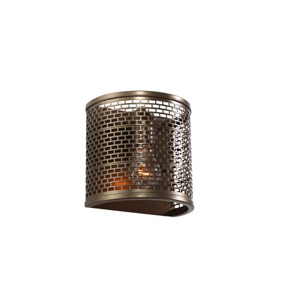 Varaluz Lit-Mesh Test 1 Light Wall Sconce