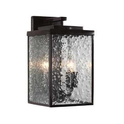Varaluz Mission You 2 Light Outdoor Wall Lantern