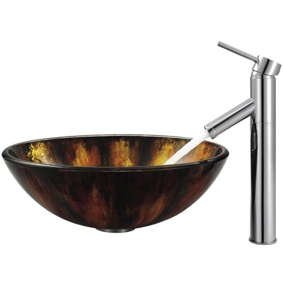 Vigo Single Hole Dior Faucet with Single Handle