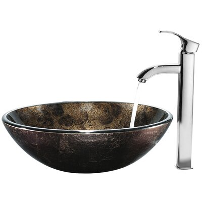 Vigo Tempered Glass Bathroom Sink