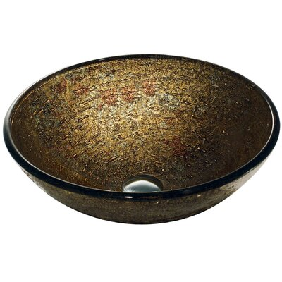 Vigo Glass Textured Bathroom Sink