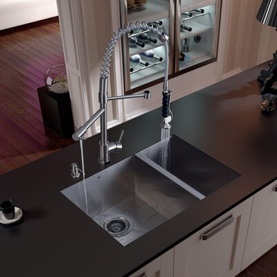 27 Undermount Sink : Vigo 29