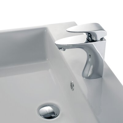 Vigo Single Hole Siegfried Bathroom Faucet with Single Handle