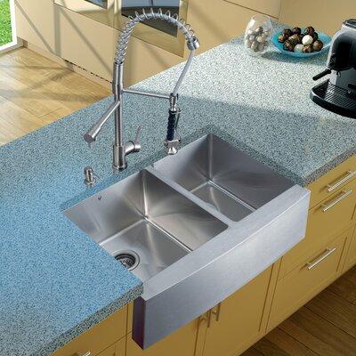 27 Farmhouse Sink : Vigo 33