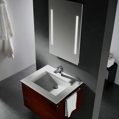 "Vigo Endearing Wall Mounted 31"" Bathroom Vanity Set"