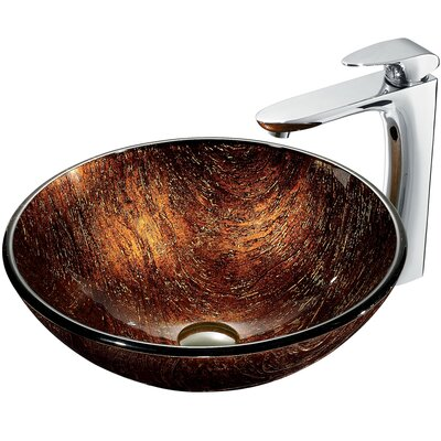 Kenyan Twilight Sink with Faucet - VGT191