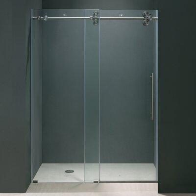 Vigo Frameless Sliding Shower Door